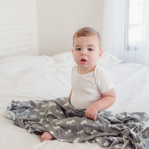 Copper Pearl Swaddle - Scout Moose