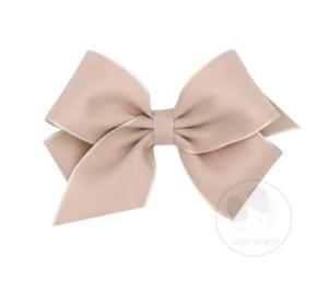 Medium Linen Overlay Bow