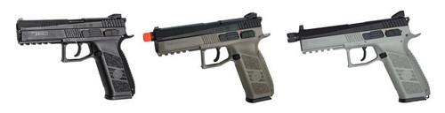 ASG CZ P-09 Tac CO2/Green Gas Pistol w/ CO2 Magazine 50099, 50108, 50129