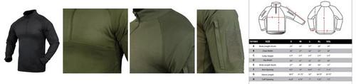 Condor Combat Shirt, Black  101065