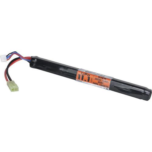 Valken 11.1v 1200mah 20c LiPO, Long Stick for AK  62937