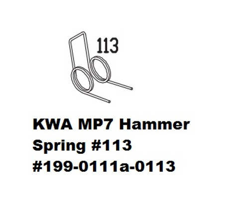 KWA MP7 Hammer Spring #113 199-0111a-0113
