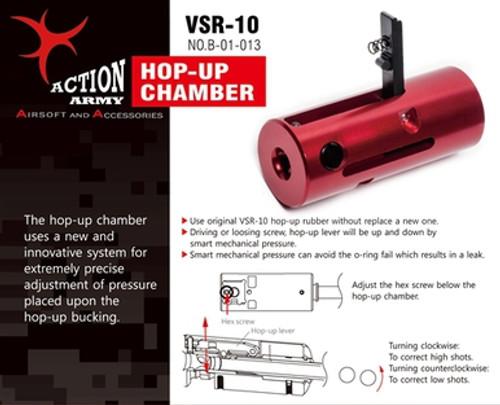 Action Army VSR-10 CNC Hop Up Chamber (TM VSR10, JG Bar 10, HFC VSR11)  B01-013