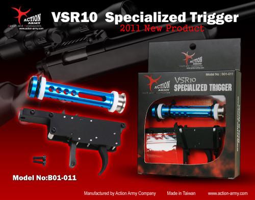 """Action Army VSR-10 Specialized """"ZERO"""" Trigger Set (TM VSR10, JG Bar 10, HFC VSR11)  B01-011"""