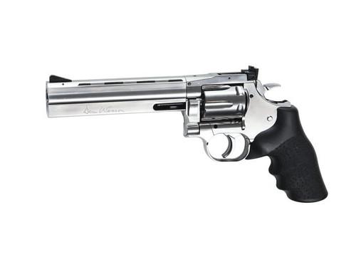 "ASG Dan Wesson 715 6"" Full Power CO2 GBB Revolver, Silver  50110"