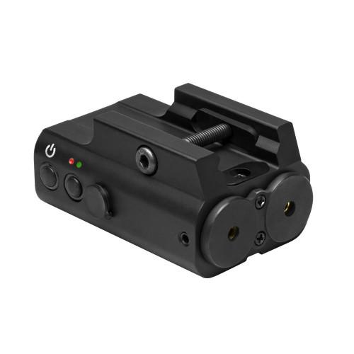 NcStar Red & Green Laser Box w/ Rail   APXLRGB