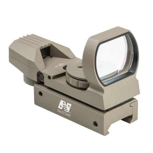 NcStar Red & Green Dot 4 Reticle Reflex Sight, Tan  D4RGT