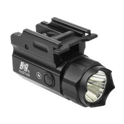 NcStar 3W 150 Lumen LED Flashlight QR Quick Release Mount w/ Strobe  ACQPTF