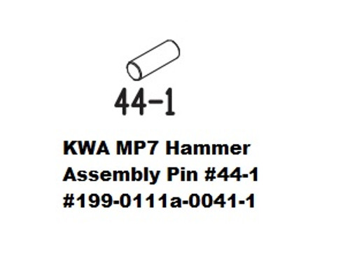 KWA MP7 Hammer Assembly Pin  #41-1  199-0111a-0041-1
