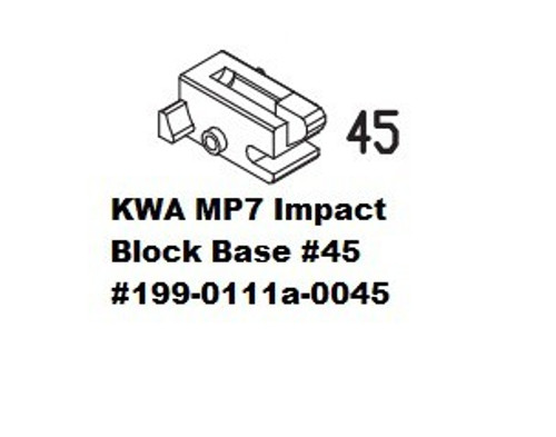 KWA MP7 Impact Block Base #45  199-0111a-0045