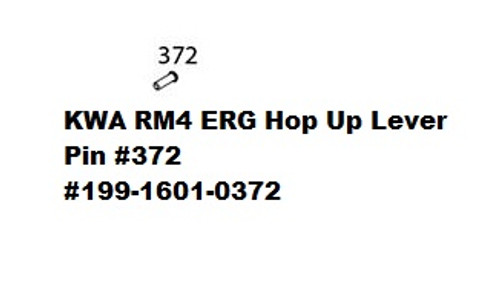 KWA ERG Hop Up Lever Pin #372 199-1601-0372