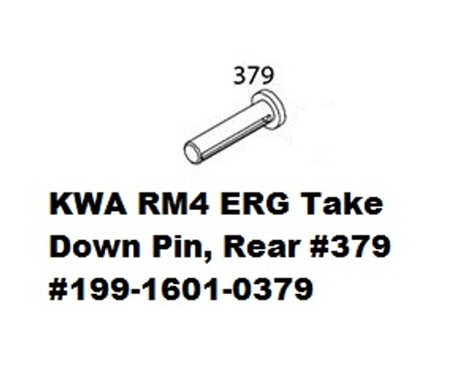 KWA ERG Take Down Pin, Rear #379  199-1601-0379