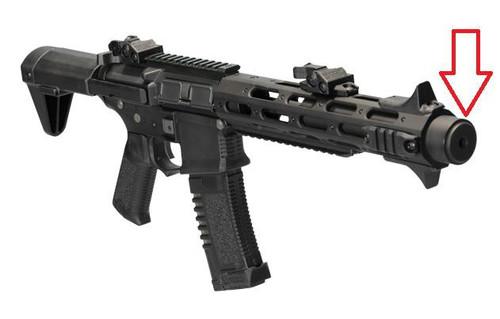 ARES Amoeba Metal Muzzle Cap for AM-013 Suppressor (replaces orange cap)