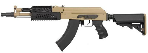 G&G RK104 ETU Crane Non-Blowback AK AEG, Tan  GRK-104-ETU-DNB-NCM