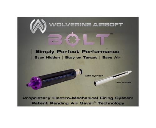 Wolverine Airsoft BOLT HPA Sniper Rifle Conversion Kit w/ VSR-10 Cylinder  BLT-CA-001 and BLT-CA-002