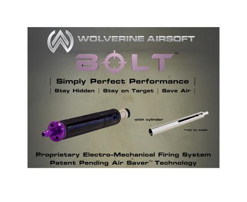 Wolverine Airsoft BOLT HPA Sniper Rifle Conversion Kit w/ VSR-10 Cylinder  BLT-CA-001 and BLT-CA-002