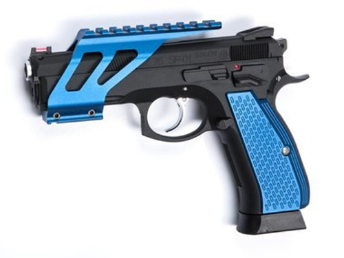 ASG SP-01 Shadow CNC Rail Mount, Blue  18502  (rail mount only!)