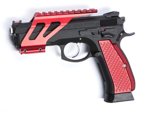 ASG SP-01 Shadow CNC Rail Mount, Red  18516  (rail mount only!)