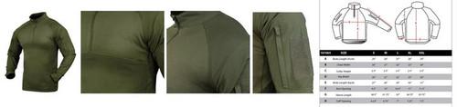 Condor Combat Shirt, OD  101065