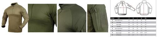 Condor Combat Shirt, Tan  101065