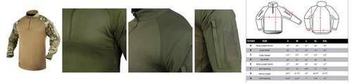 Condor Combat Shirt, Multicam  101065