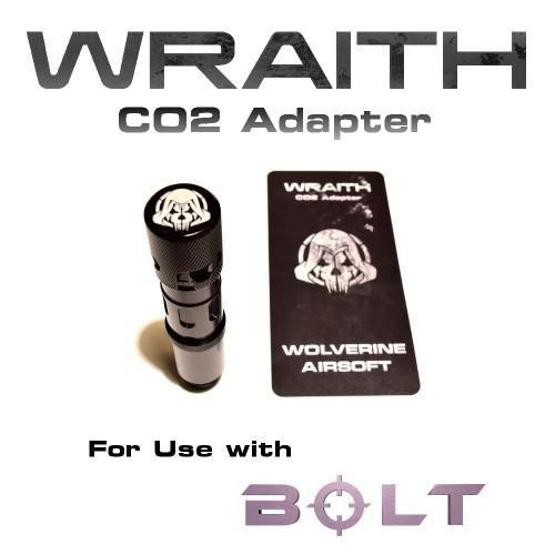 Wolverine Airsoft WRAITH CO2 Stock Adapter  WRT-CA-002