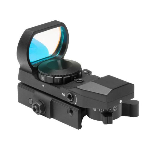 NcStar Rogue QD Red Dot w/ 4 Reticles, Black  DX4BQ