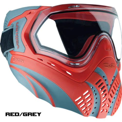 Valken Identity Pro Goggle System, Red/Grey  68946