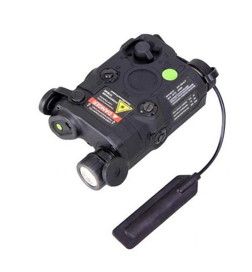 Bravo P15 250 Lumen Flashlight w/ Green Laser and Pressure Pad