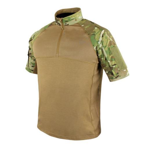 Condor Short Sleeve Combat Shirt, Multicam  101144