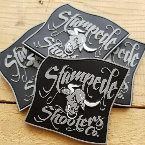 2017 Stampede Shooter Co. PVC Patch