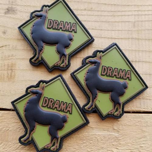 2017 Drama Llama PVC Patch