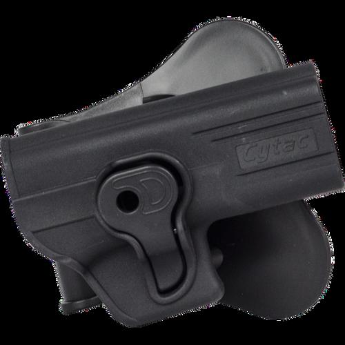 Cytac GLOCK / WE / TM / KJW + Polymer Hardshell Paddle Pistol Holster, Black  74015