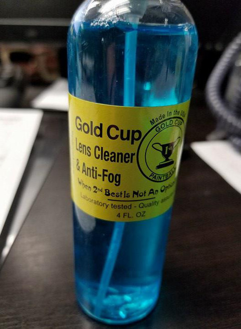 Gold Cup Lens Cleaner & Anti-Gog, 4oz.  V234001