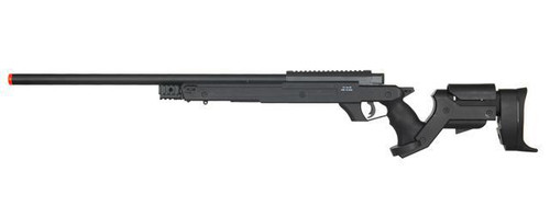 WELL MB04B Bolt Action Sniper Rifle, Black