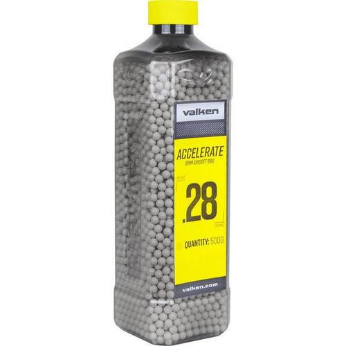 Valken Accelerate .28g Bottle, White