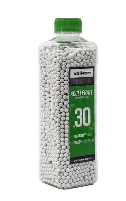 Valken Accelerate .30g Bottle, White