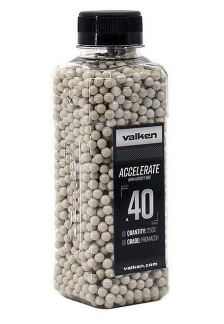 Valken Accelerate .40g Bottle, White  93535