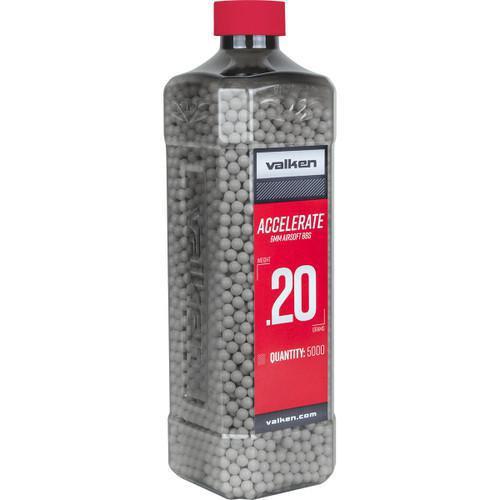 Valken Accelerate .20g Bottle, White