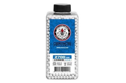 G&G Perfect BB .28g Bottle, White