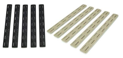 """BCM Gunfighter KeyMod 5.5"""" Rail Panel Kit, 5 Pack   BCM-KMR-RP"""
