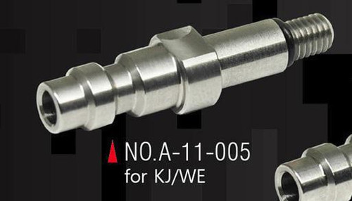 Action Army CNC HPA Adapter for KJW/WE GBB Pistol   A-11-005