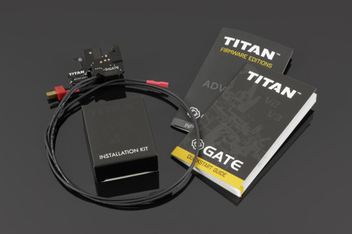 Gate TITAN V2 ADVANCED *Rear Wired* Firmware Drop-In Programmable MOSFET