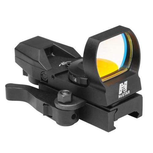 NcStar 4 Reticle GREEN LED Reflex SIght, QR Mount, Black  D4BGQ