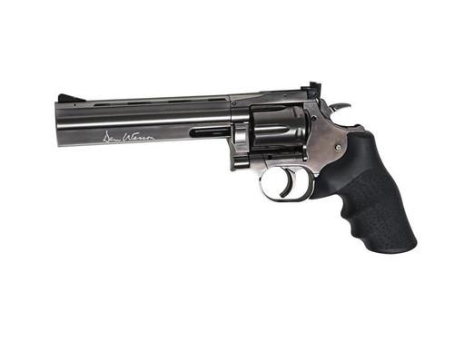 "ASG Dan Wesson 715 6"" CQB Lower Power CO2 GBB Revolver, Steel Grey  50101"