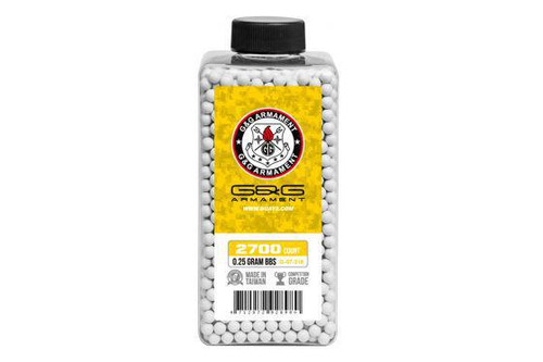 G&G Perfect BB .25g Bottle, White