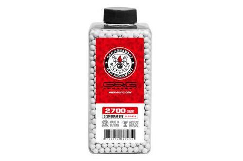 G&G Perfect BB .20g Bottle, White