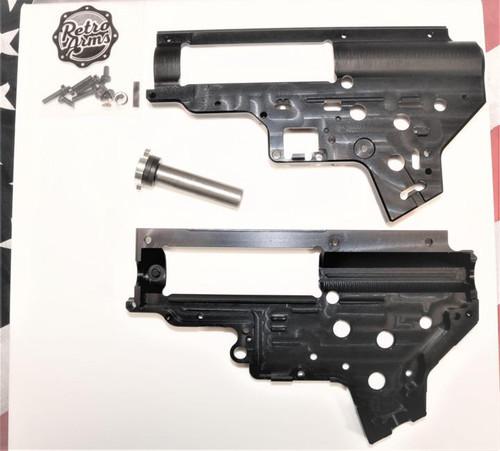 Retro Arms CNC V2 QSC 8mm Gearbox, Black  6892