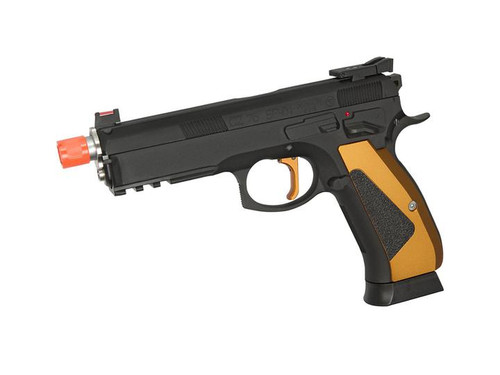 "ASG ""Special Edition"" ACCU CZ Shadow SP-01 GBB C02 Pistol, Orange  50220"