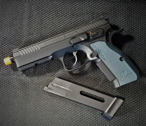 ASG CZ Shadow 2 GBB C02 Pistol, Blue  50227